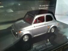 Vitesse 1:43 Fiat Abarth 595 SS1964 Silver/Black VI24510 Number 415 Of 599