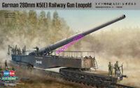 Hobbyboss 1/72 82903 German Railway Gun 280mm K5(E) Model Kit Hot