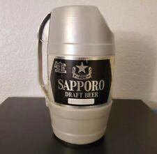 New listing Vintage - Sapporo - Draft Plastic Handled - Keg Barrel Beer Can Tokyo japan