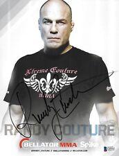 Randy Couture Signed 8x10 Photo BAS Beckett COA UFC Official Bellator Autograph