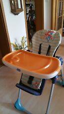 Chicco Polly 2 in 1 Baby Hochstuhl Tisch  Orange