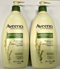 2 pack AVEENO DAILY MOISTURIZING LOTION 18 OZ EACH RELIEVE DRY SKIN FREE SHIP