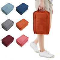 Portable Waterproof Shoes Storage Bag Outdoor Travel Zip Tote Pouch Organizer US