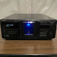 Sony CDP-CX455 Compact Disc Player 400 CD Mega Storage ●F● New Belts ●F●