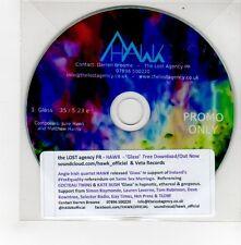(GE527) Hawk, Glass - DJ CD
