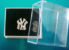 Mens NY 10 x 10mm New York Earring Ice Earing Gangster Rap Rapper Hip Hop Stud
