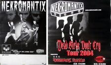 NEKROMANTIX - 2002/04 - 2 x Tourplakat - In Concert - Tourposter - Poster