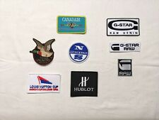 ecusson patch g star raw canadair louis vuitton cup chevignon north sails