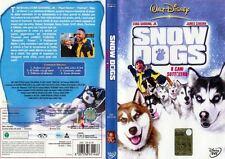 WALT DISNEY SNOW DOGS 8 CANI SOTTOZERO DVD Z3 DV 5177 ologramma tondo rarissimo