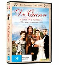 Dr Quinn Medicine Woman : Season 3 (DVD, 2009, 8-Disc Set) - Region 4