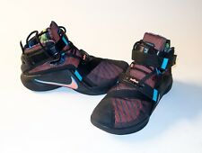 Nike Mens Zoom Lebron Soldier IX Basketball Shoes Size US 11 Black w/ Orange +