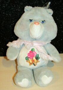 "Vintage 15"" Grams Care Bear Plush Kenner 1983 Grandma Stuffed Teddy WITH SCARF!"