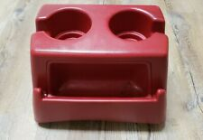 1992-1993 Ford F150 F250 F350 Large Bench Seat Cup Holder Scarlet Red OEM XLT XL