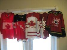 Team Canada Nike Jerseys.  2010 Olympics, etc.  BUY ONE YOUR CHOICE