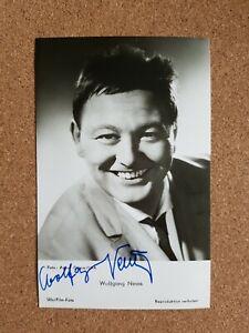 Wolfgang Neuss original signierte Autogrammkarte UFA Film Foto Verlag