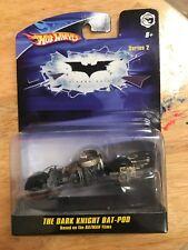 Hot Wheels Batman The Dark Knight Bat-Pod Diecast 1/50 Series 3 New