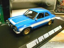 FORD Escort MKI RS 2000 Brian Fast & Furious 1974 blau Muscle V8 Greenlig 1:43