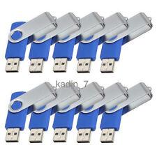 Lot 10 1G USB Flash Drive 1GB Thumb Memory Pen Key Stick Bulk Pack Wholesale