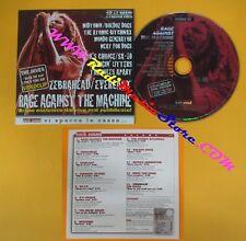 CD Compilation ROCK SOUND 32 PROMO 2000 RAGE AGAINST THE MACHINE EVERLAST (C21)