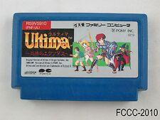 Ultima Famicom Japanese Import FC NES Nintendo Japan JP US Seller C/Fair