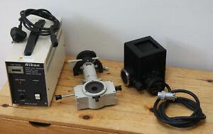 Nikon Optiphot 2 Microscope Fluorescence Equipment - Working well