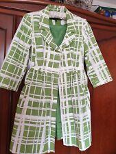 Women Green/White Coat by NEXT size12