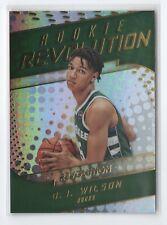17-18 Revolution Rookie Revolution RC #16 D.J. Wilson Milwaukee Bucks