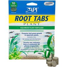 API Root Tabs Pack of 10 - Root Fertilizer for Aquarium Plants Tablets 1st Class