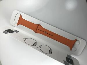 Original Genuine Authentic Apple watch Hermes Sport Band 42mm 44mm strap Orange