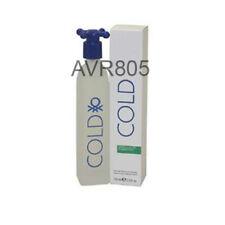 Benetton Cold 100ml Eau De Toilette Spray for Men