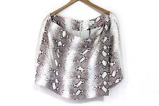 Witchery exotic snake animal print semi formal mini skirt size 16 for women