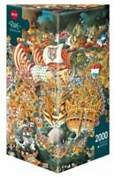 - Heye - Triangular , 2000 Piece Jigsaw Puzzle  - Trafalgar, Ryba  HY29795