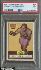 1951 Topps Ringside Boxing #31 Jersey Joe Walcott PSA 7 NM