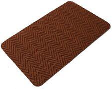 Orange Multi Directional Doormat Front Back Step Polypropylene Mat 80cm x 50cm