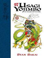 Usagi Yojimbo 35 Years of Covers Hardcover Art Book Stan Sakai HC New NM
