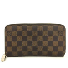 100% Authentic Louis Vuitton Damier Zippy Zip Around Long Wallet purse /5141H