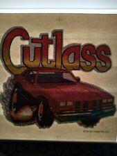 Rare Vintage Oldsmobile Cutlass Iron On T-shirt Transfer  NOS