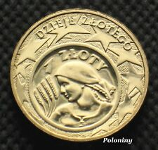 COMMEMORATIVE COIN OF POLAND - HISTORY OF POLISH ZLOTY WOMAN WITH GRAINS (MINT)