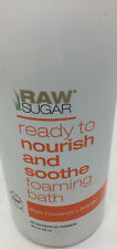 Raw Sugar Foaming Bath Raw Coconut & Mango No Sulfates or Parabens
