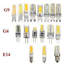 Dimmable E14 G4 G9 LED 2/3/4/5/6/7/8/9W Light COB Filament Capsule Corn Bulb 12V