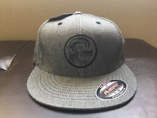 16b3460c609 O NEILL Mens Toned Flexfit Embroidered Logo Gray HAT Cap S M 32196105 New