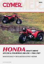 1984-1987 Honda ATC250 Fourtrax TRX200 TRX250 Repair Service Shop Manual M455