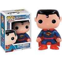 Funko Pop Superman Super Man 52 Suit Dc Comics Movie Fight Vinyl Figure #07