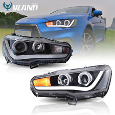 LED Headlights For Mitsubishi Lancer / EVO X 2008-2017 DRL Front Lamps H/L Beam