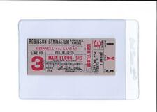 1927 BASKETBALL TICKET STUB KU JAYHAWKS ROBINSON GYMNASIUM OLD VINTAGE RARE