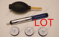Pompe à dessouder  et à poussières  + 3 Bobine de fil à souder  Etain 0.8 mm