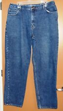 High Sierra Men's Relaxed Fit 100% Cotton Blue Denim Jean - 38x34