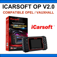 ✅ VALISE DIAGNOSTIC AUTO OBD2 100% FRANCAIS ICARSOFT OP V2.0 - OPEL + VAUXHALL