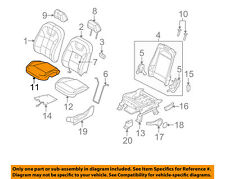 FORD OEM 08-09 Focus Driver Seat-Cushion Cover Left 8S4Z5462901AA