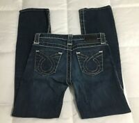 Women's BIG STAR Dark Wash Denim MIKI Boot Cut Jeans Size 27R 30x30